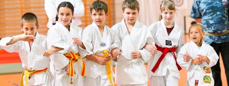 Actividades extraescolares de karate en Madrid